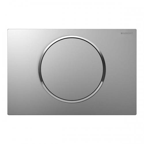 Geberit Sigma10 Single Flush Plate Matt Chrome 115.758.KN.5