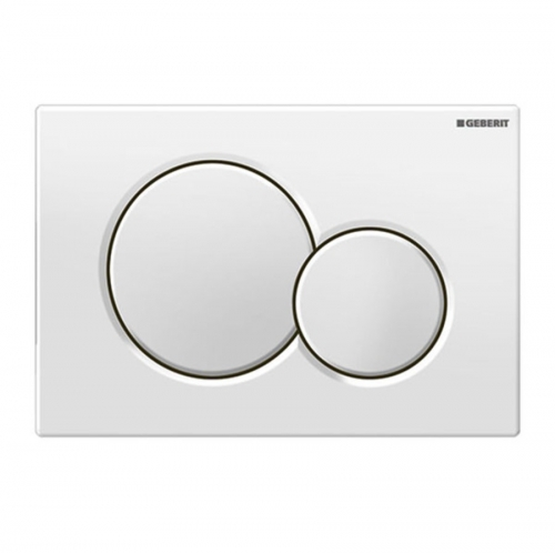 Geberit Sigma01 Dual Flush Plate White Alpine 115.770.11.5