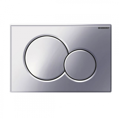 Geberit Sigma01 Dual Flush Plate Matt Chrome 115.770.46.5