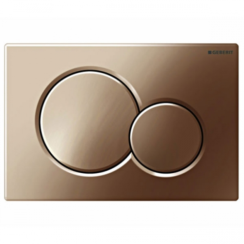 Geberit Sigma01 Dual Flush Plate Special Brass 115.770.DT.5