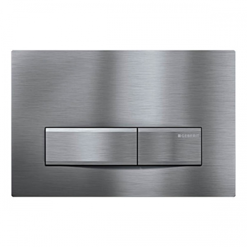 Geberit Sigma50 Brushed Chrome Dual Flush Plate 115.788.GH.5