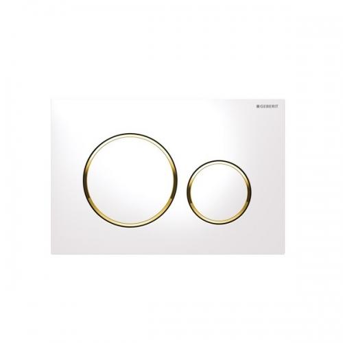 Geberit Sigma20 Dual Flush Plate White Gold 115.882.KK.1