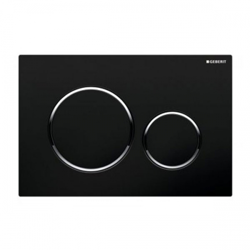 Geberit Sigma20 Dual Flush Plate Black 115.882.KM.1