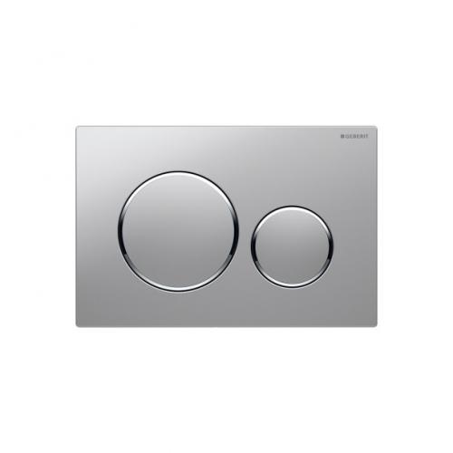 Geberit Sigma20 Dual Flush Plate Matt Chrome 115.882.KN.1
