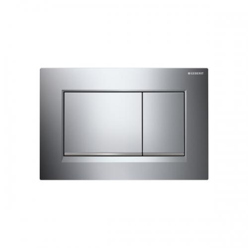 Geberit Sigma30 Dual Flush Plate Gloss Chrome 115.883.KH.1