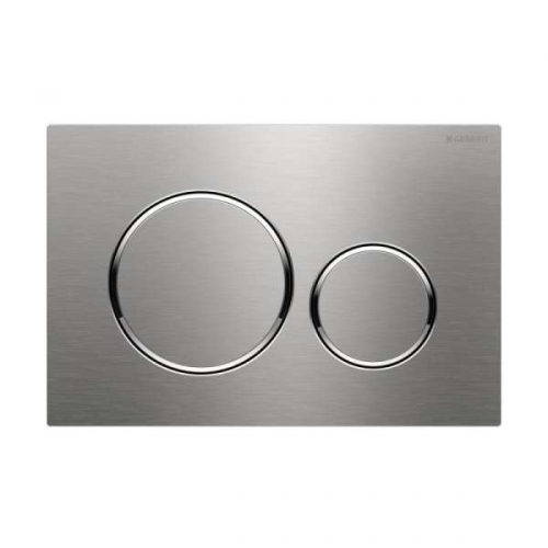Geberit Sigma20 Screwable Flush Plate Matt Chrome 115.889.SN.1