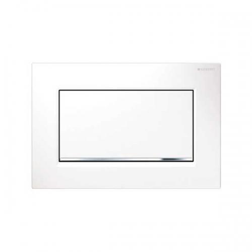 Geberit Sigma30 Single Flush Plate White Gloss 115.893.KJ.1