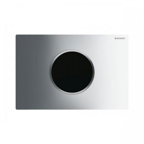 Geberit Sigma10 Mains Operated Touchless Flush Plate Chrome 115.907.KH.1