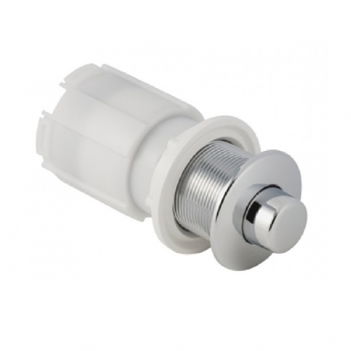 Geberit Pneumatic Short Wall Palm Metal Push Button with Actuator 115.949.21.1