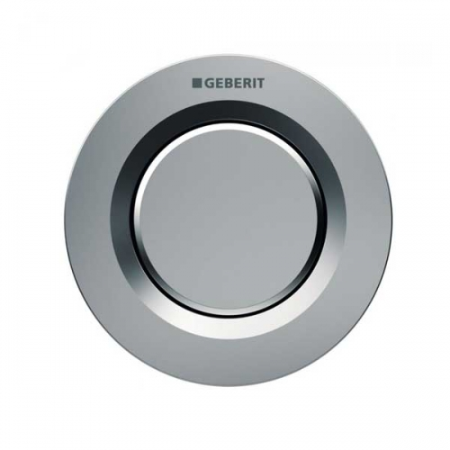 Geberit Type 01 Single Flush Plate Button for 120mm - 150mm Concealed Cistern Gloss Chrome 116.040.21.1