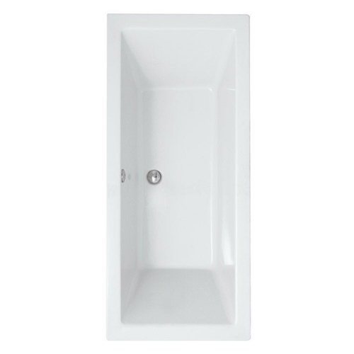 Synergy Berg Cubic No Tap Holes Double Ended Bath
