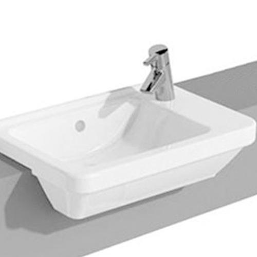 VitrA S50 Square Semi Recess Basin