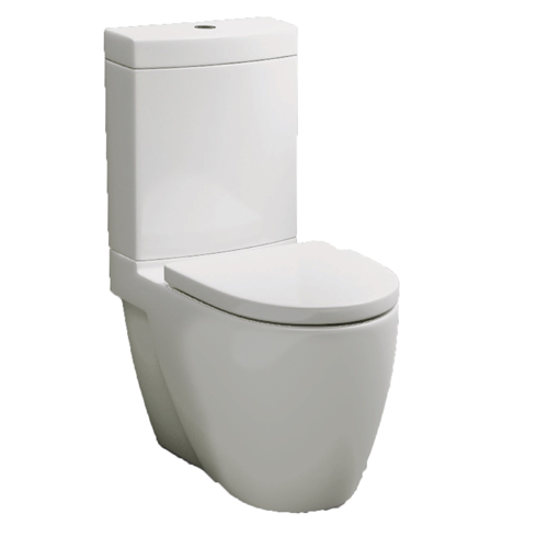 Close Coupled Fully Back To Wall Pan, Cistern & Soft Close Seat - C30 By Voda Design