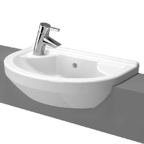 VitrA S50 Round Compact Semi Recessed Basin