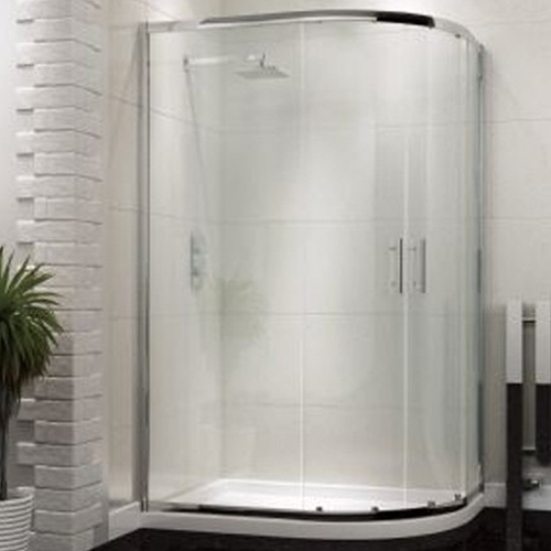 Offset Quadrant Shower Enclosure  - Kaso 6 by Voda Design (6mm Thick)