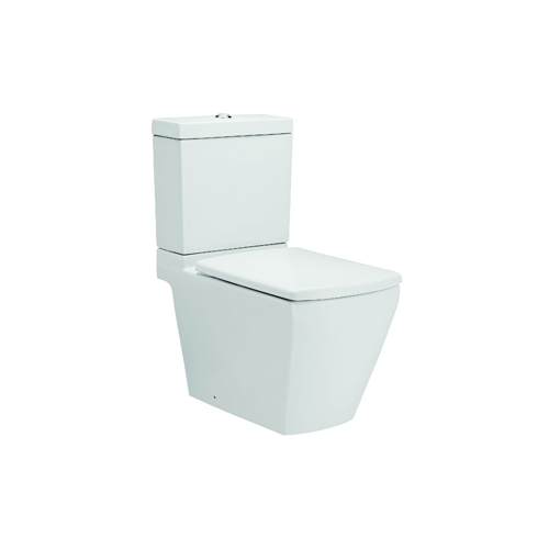 Synergy Argon 675mm Close Coupled WC Toilet and Soft Close Seat