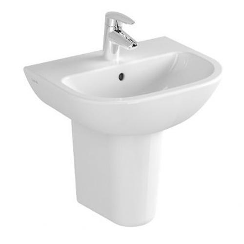 VitrA S20 Basin Options With Large Half Pedestal