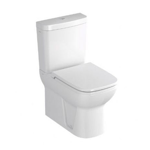 VitrA S20 Close Coupled Fully Back to Wall WC with Cistern and Seat