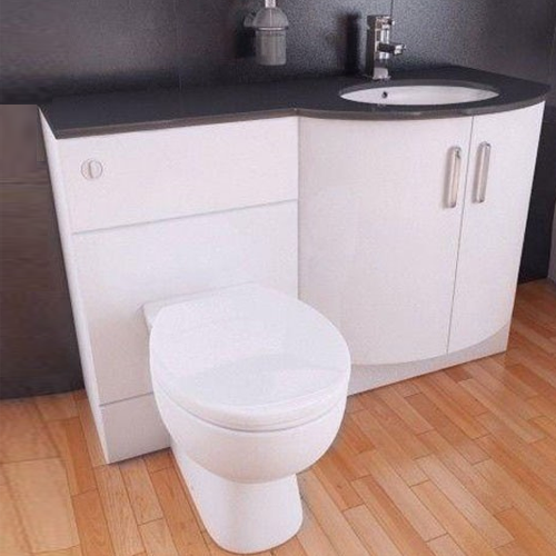 Sparkle Furniture Run 1220MM - Basin Unit, WC Pan, Cistern and Seat
