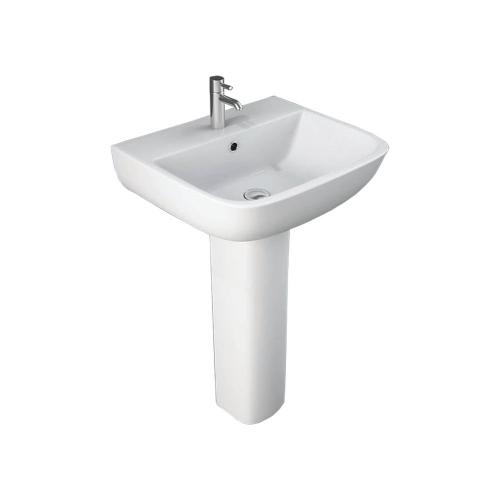 Arley Pure 550mm Basin And Pedestal