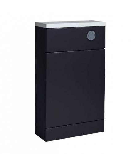 Tavistock Kobe 500mm Storm Grey Back to Wall Toilet Unit