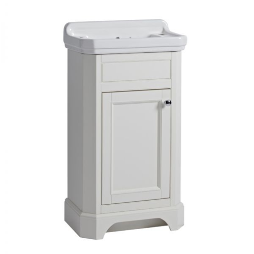 Tavistock Vitoria 500 Cloakroom Basin Unit Linen White