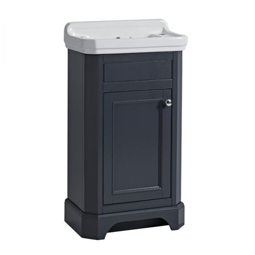 Tavistock Vitoria 500 Cloakroom Basin Unit Dark Grey