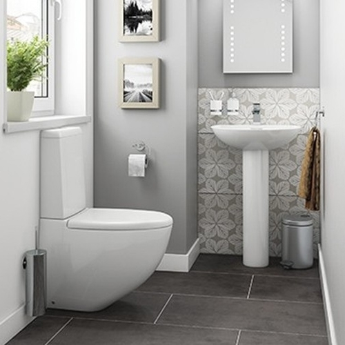 Synergy Lyon Full 4 Piece Cloakroom Suite