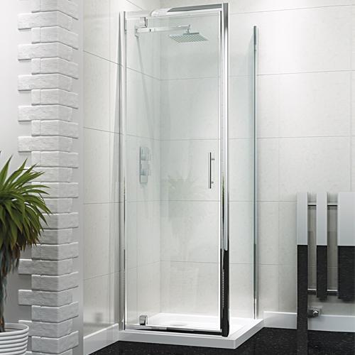 Pivot Shower Door - Kaso 6 by Voda Design (6mm Thick)