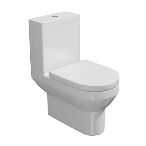 Synergy Alpha Close Coupled Modern Toilet Inc Soft Close Seat