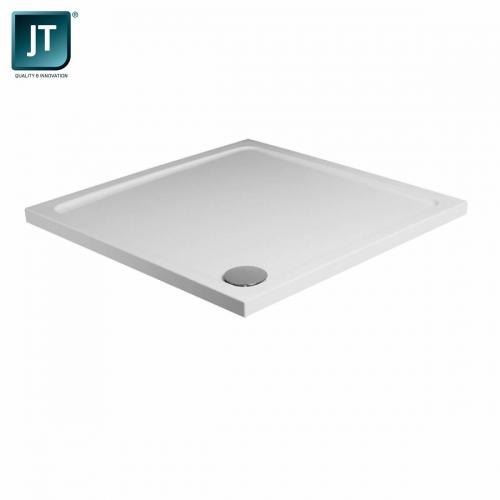 JT Fusion Square Shower Tray - Antil Slip