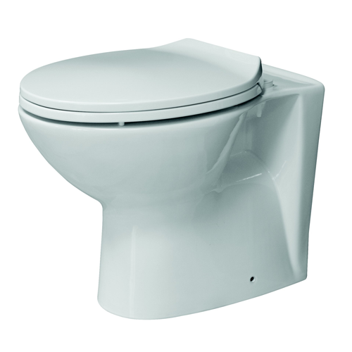 """Arley """"Bog In A Box"""" Back to Wall Toilet and Seat"""