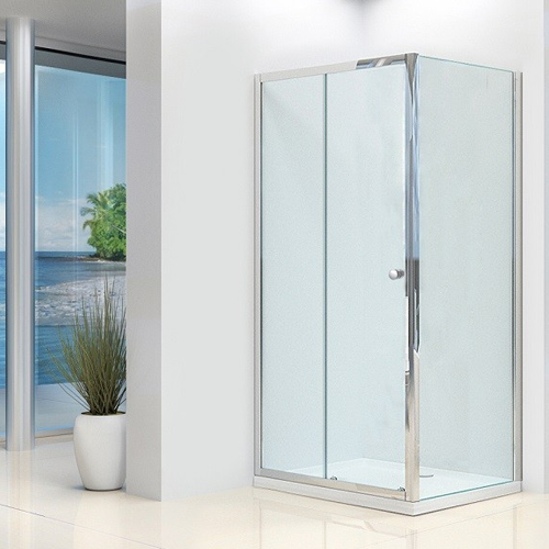 Synergy Vital 4mm Slider Shower Door and Side Panel Pack