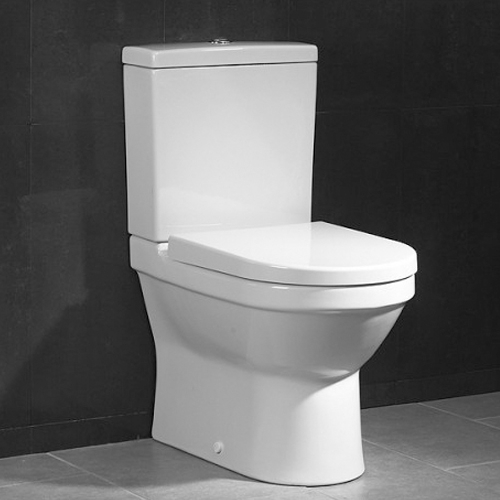 VitrA S50 Close Coupled Fully Back To Wall WC With Cistern and Seat