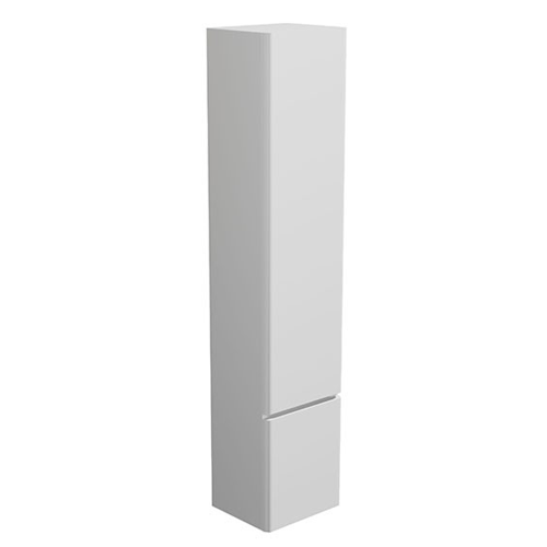 Synergy Linea Tall Storage Cabinet White