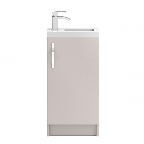 Hudson Reed Cashmere Apollo Compact Floor Standing 400mm Cabinet & Basin - APL722C