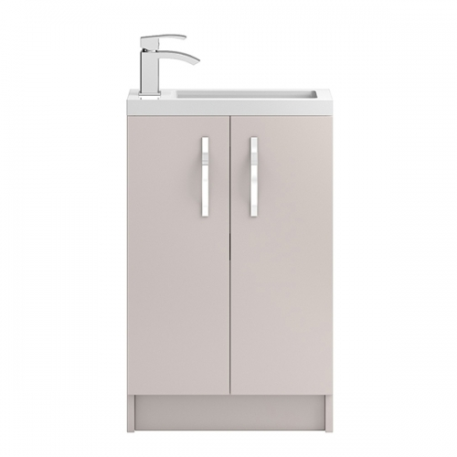 Hudson Reed Cashmere Apollo Compact Floor Standing 500mm Cabinet & Basin - APL724C