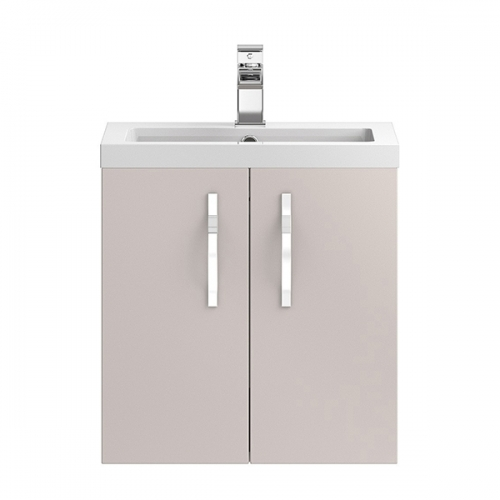 Hudson Reed Cashmere Apollo Wall Hung 500mm Cabinet & Basin - APL734