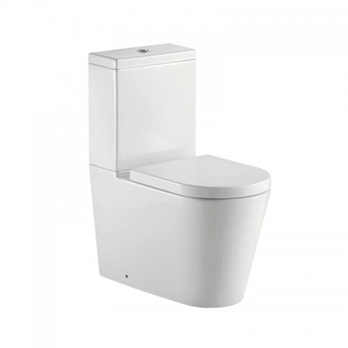 Fully Back To Wall Close Coupled Toilet With Cistern &  Seat - Arley Alonzo