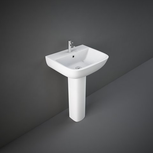 RAK Series 600 Basin with Full or Semi Pedestal