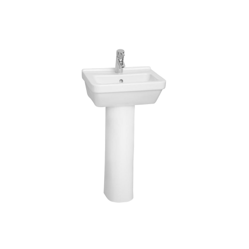 Vitra S50 Sqaure Basin Options With Full Pedestal