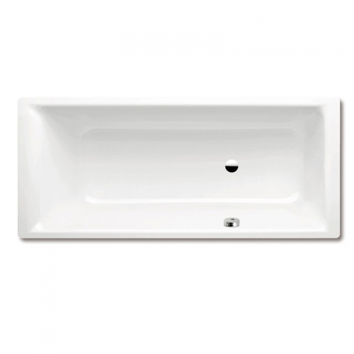 Kaldewei Puro Steel Rectangular Bath With Right Hand Side Overflow 1700 x 750mm 0 Tap Hole