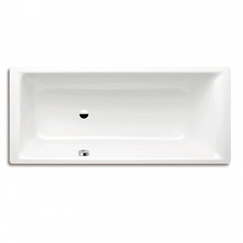 Kaldewei Puro Steel Rectangular Bath With Left Hand Side Overflow 1700 x 750mm 0 Tap Hole