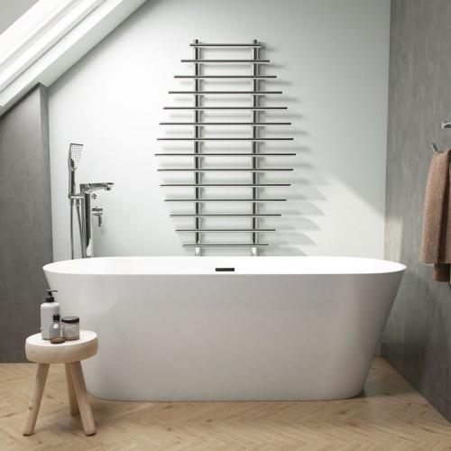 Freestanding Modern Double Ended Bath - Duke by Voda Design.