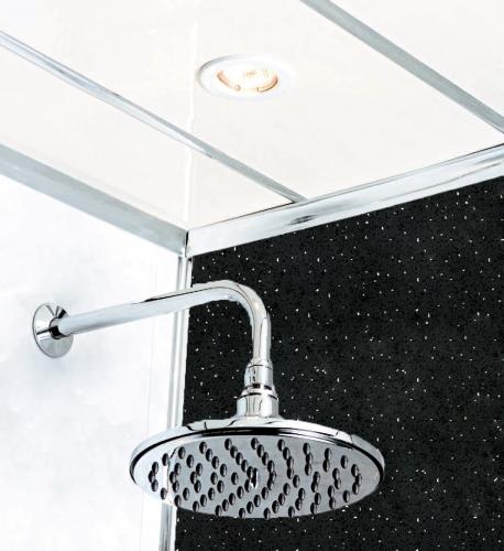 Black Diamond Stone 2400 x 1000mm Shower Panel