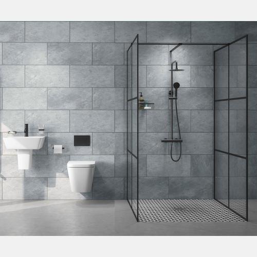 Black Grid Wetroom Suite