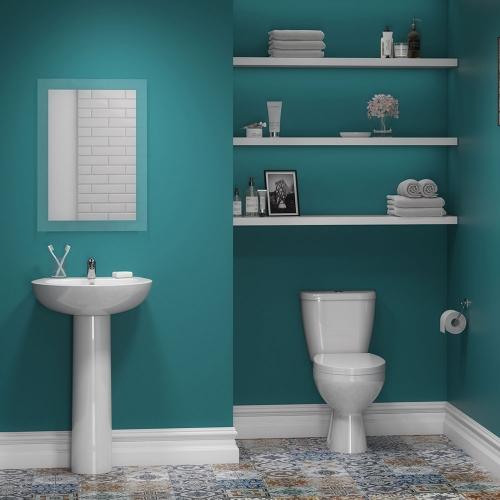 Value Toilet & Basin Suite (Including Tap & Waste)