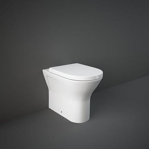 RAK Ceramics Resort Comfort Height Back to Wall Toilet with Soft Close Seat