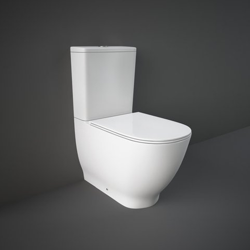 RAK Ceramics Harmony Back to Wall Close Coupled Toilet with Soft Close Seat