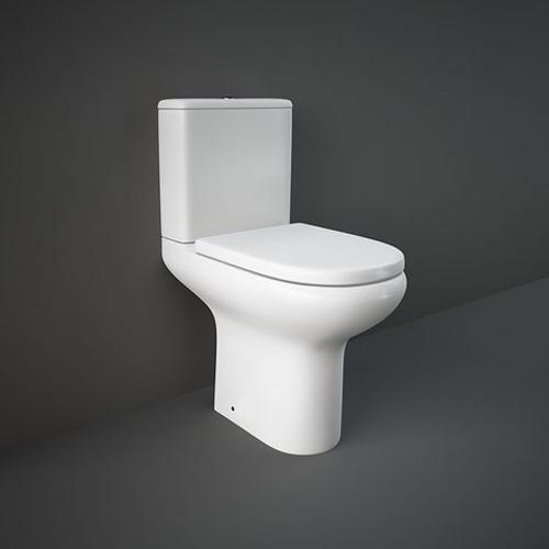 RAK Ceramics Compact Close Coupled Toilet with Soft Close Seat